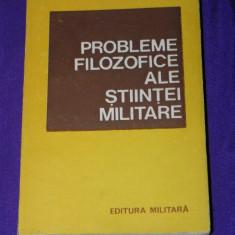 Probleme filozofice ale stiintei militare vol 3 Elemente de praxiologie (p2504 - Carte Psihologie