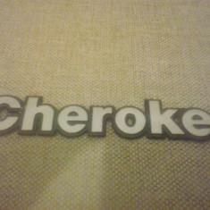 Sigla emblema - Jeep - Cherokee - 183 x 31 mm - Embleme auto