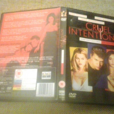 Cruel Intentions (1999) - DVD - Film drama, Engleza
