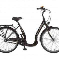 Vand bicicleta Prophete Geniesser 6.4 Tiefeinsteiger 26 model 2016 - Bicicleta de oras, Numar viteze: 3, Otel, Negru