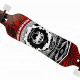 Longboard Spider ABEC 9 Silicon NOU - Skateboard Nespecificat, Barbati