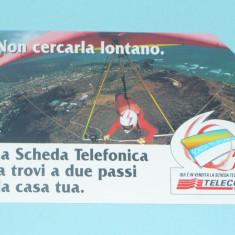 CARTELA TELEFONICA ITALIA 2