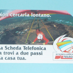 CARTELA TELEFONICA ITALIA 2 - Cartela telefonica straina