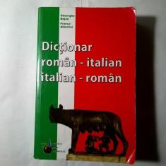 G. Bejan, F. Albertini - Dictionar roman-italian italian-roman - Carte in italiana