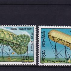 ROMANIA 1993, LP 1308, AEROSTATE FOLOSITE IN ROMANIA SERIE MNH - Timbre Romania, Nestampilat