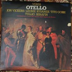 Giuseppe Verdi, Jon Vickers, Leonie Rysanek, Tito Gobbi, – Otello - Muzica Opera rca records, VINIL