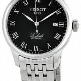 Ceas Tissot Le Locle Automatic negru - Ceas barbatesc Tissot, Lux - elegant, Mecanic-Automatic, Inox, Data