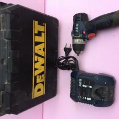 Autofiletanta, Masina de gaurit, insurubat AEG BS 12 C - Surubelnita electrica
