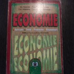 ECONOMIE * Aplicatii * Teste * Probleme * Raspunsuri - Ilie Gavrila - Economica - Curs Economie