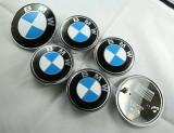 NOU! Set 7 buc. Embleme Bmw | Power tunning paket auto sport e seria