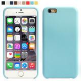 Husa iPhone 7 Blue, iPhone 7/8, Albastru, Piele Ecologica