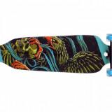 Longboard Drop-through 104cm Roti LED NOU - Skateboard Nespecificat, Copii