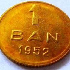 Moneda 1 Ban - ROMANIA, anul 1952 *cod 2426 a.UNC++ - Moneda Romania