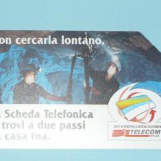 CARTELA TELEFONICA ITALIA 1