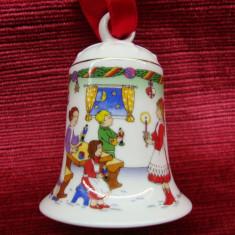 CLOPOTEL / GLOB DIN PORTELAN HUTSCHENREUTHER - Ornamente Craciun