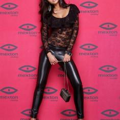 Body Mexton negru din dantelă - ţinută Revelion - Body dama