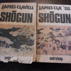 SHOGUN * 2 vol. - James Clavell - Editura Univers, 1988, 683 + 667 p. - Roman