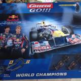 Pista Masini Formula1 Carrera 5.4m electric RedBul World Champions nou sigilat