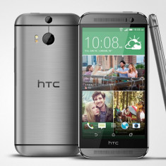 HTC One M8 - Garantie pana in 04.05.2017 - Telefon mobil HTC One M8, Gri, 16GB, Orange