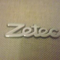 Sigla emblema - ZETEC - FORD - 90 x 25 mm - Embleme auto