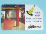 CARTELA TELEFONICA ITALIA 5