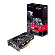 Placa video SAPPHIRE 11260-07-20G, Radeon RX 480 NITRO+, PCIe 3.0 (x16), 8GB GDDR5, 256 Bit, Core Clock:1208 MHz, Boost Clock:1306 MHz, Memory bulk - Placa video PC Sapphire, PCI Express, Ati