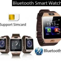 Smartwatch auriu tuchscreen, cartela SIM telefon, ceas inteligent, blueroorh, Alte materiale, Android Wear