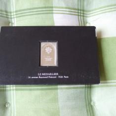 JN. Biblia in argint, 26 grame, mic lingou, argint, Europa, An: 1960