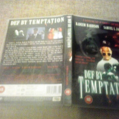 Def by temptation (1990) - DVD - Film thriller, Engleza