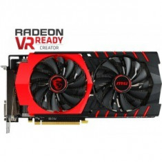 Placa video MSI Radeon R9 390 GAMING OC 8GB DDR5 512-bit, sigilata, garantie - Placa video PC Msi, PCI Express, Ati