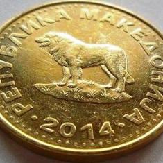 Moneda 1 Denar - MACEDONIA, anul 2014 *cod 2310, Europa