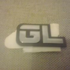 Sigla emblema - GL - FORD - 74 x 37 mm - Embleme auto
