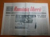"""ziarul romania libera 20 mai 1990-art. """" intre disperare si democratie """""""