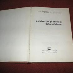 Constructia si calculul automobilelor - M. Untaru