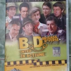 BD BRIGADA DIVERSE, INTRA IN ACTIUNE, DVD FARA ZGARIETURI - Film comedie, Romana