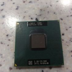 Procesor laptop intel core 2 duo T5800, 2.00/2M/800, socket P, 1500- 2000 MHz, Numar nuclee: 2, P