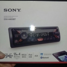 Casetofon auto bluetooth Sony DSX-A400BT - CD Player MP3 auto