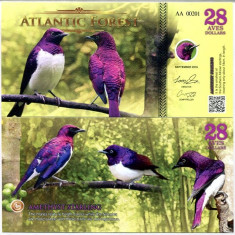 ATLANTIC FOREST- 28 AVES 2016- UNC!!