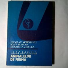 N. Morosanu, s.a. - Ortopedia animalelor de ferma - Carte Medicina veterinara