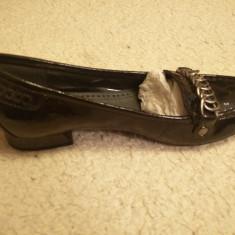 Pantofi dama Bata, din piele, marimea 35. - Pantof dama Bata, Culoare: Negru