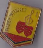 Insigna Pionier Interpret I