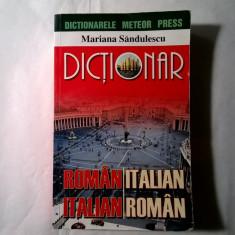 Mariana Sandulescu - Dictionar roman-italian, italian-roman - Carte in italiana