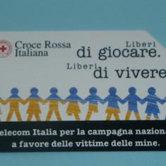CARTELA TELEFONICA ITALIA 3