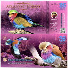 ATLANTIC FOREST- 26 AVES 2016- UNC!!