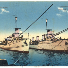 Constanta -Vapoarele de razboi.Marasti si Marasesti 1932
