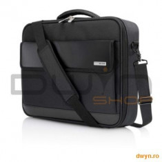Geanta business BELKIN, notebook 15, 6', Black - Geanta laptop Belkin, Geanta de umar, Nailon, Negru