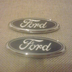 Sigla emblema - FORD - 90 x 35 mm - Embleme auto