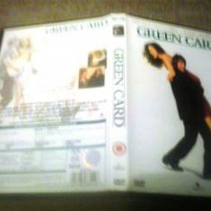 Green Card (1990) - DVD - Film drama, Engleza