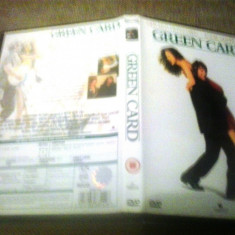 Green Card (1990) - DVD - Film drama, Engleza