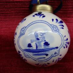 GLOB PORTELAN DELFT - Ornamente Craciun